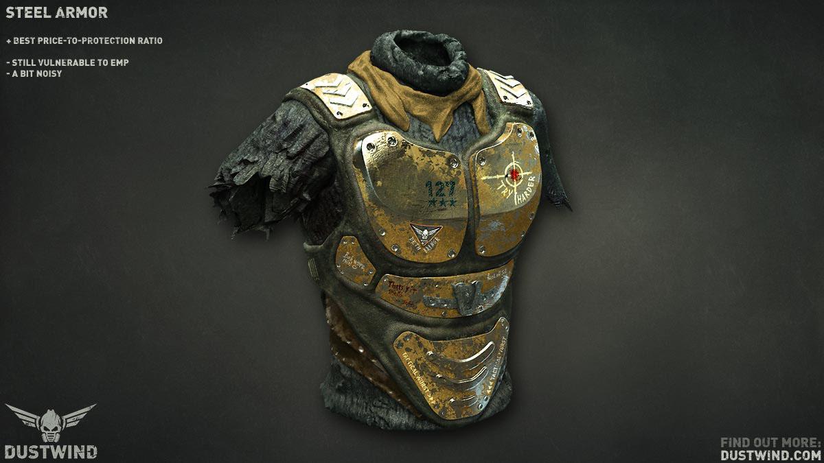 Dustwind Steel Armor